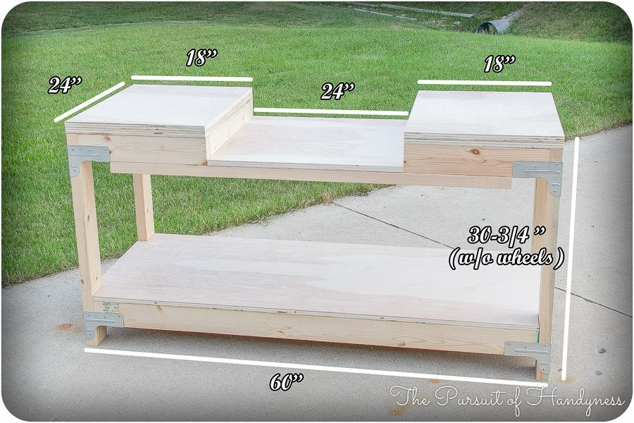 Mobile Miter Saw Stand Dimensions Woodworking Mitre