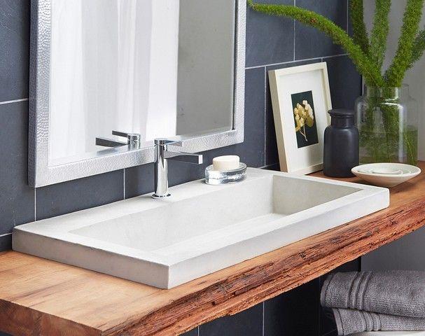 Floating Bathroom Sink Shelf: Floating shelves for bathroom sinks   Furniture Design Gallery,Living Room