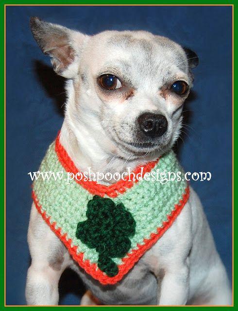 Shamrock Dog Collar Crochet Pattern Dog Collars And Crochet