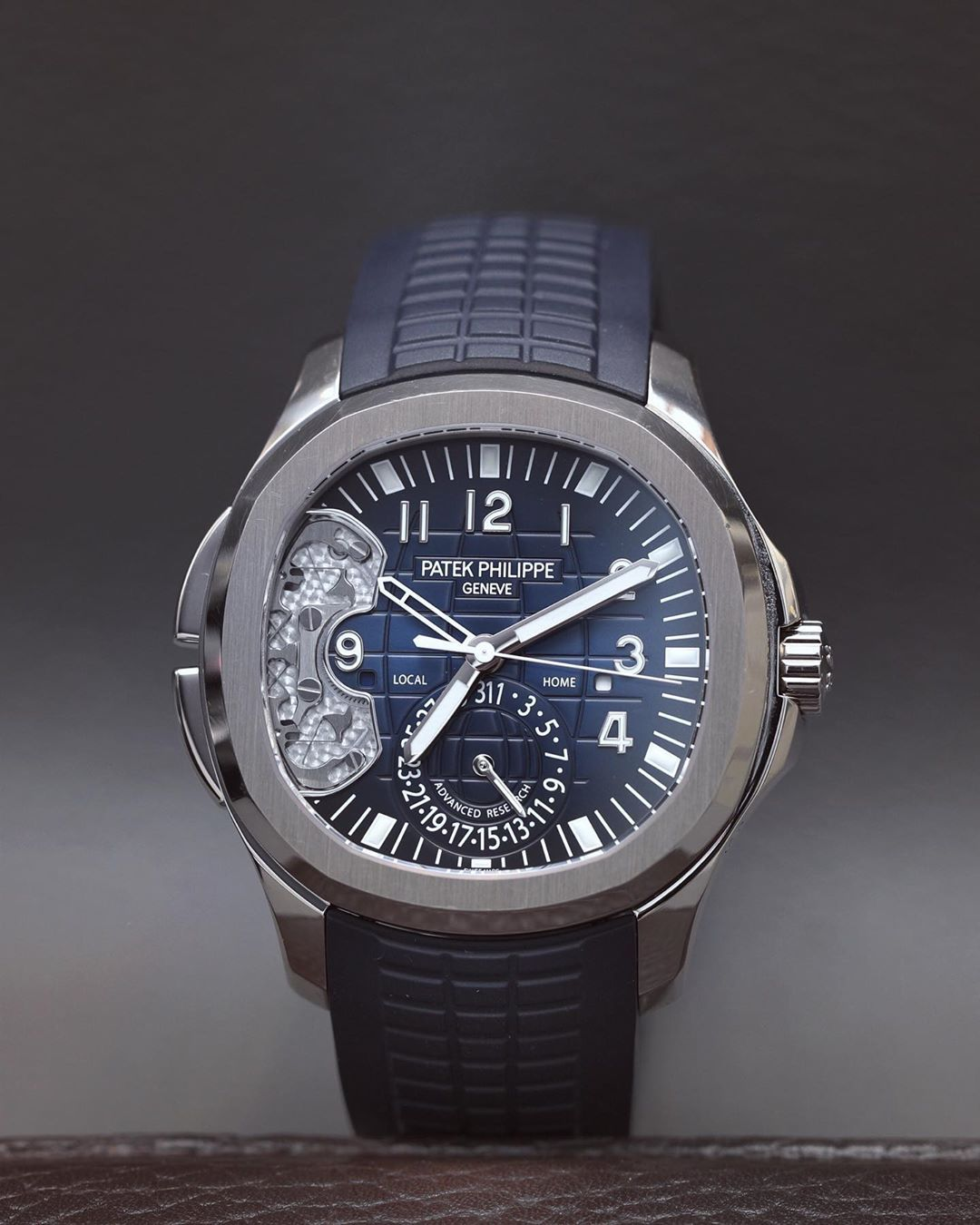 Scratches Are A Part Of Life Patekphilippe Aquanaut Travel Time Ref 5650g Ad Watches For Men Swiss Watches Watches