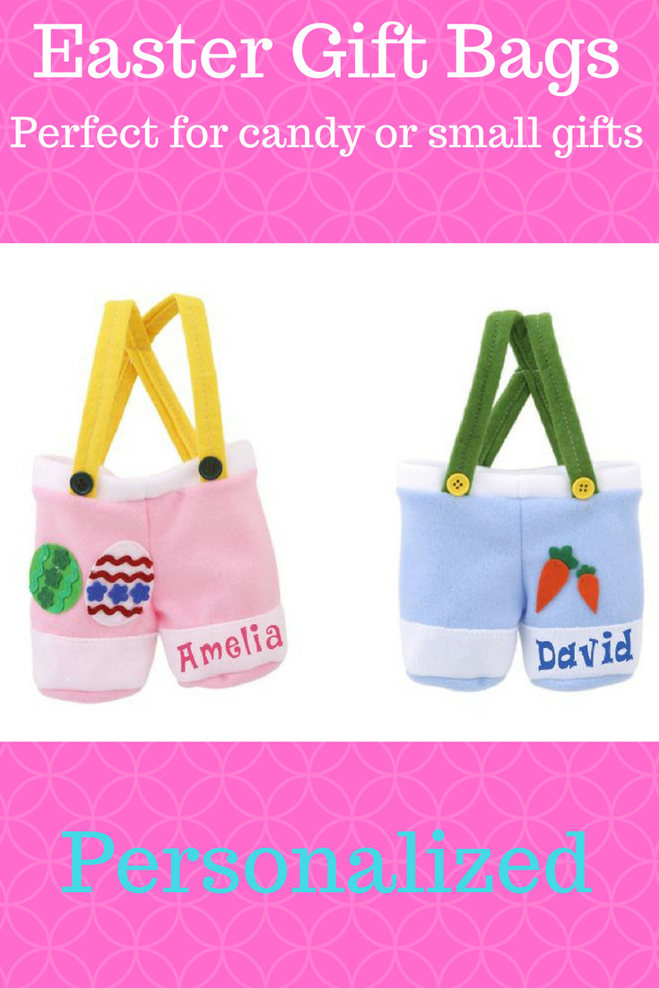 Personalized easter bags perfect for candy or small gifts for personalized easter bags perfect for candy or small gifts for grandkids nieces and nephews negle Gallery