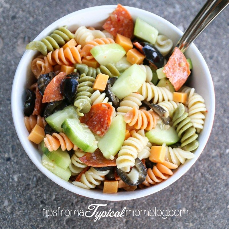 Photo of Easy Zesty Italian Pasta Salad Recipe – Tips from a Typical Mom