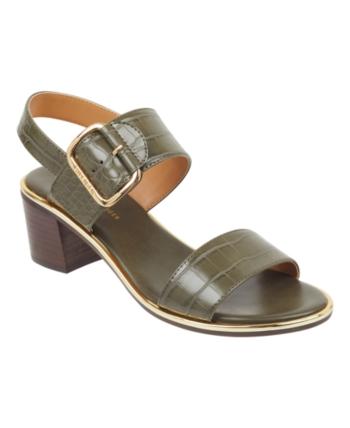 7ab0d66c6d3 Tommy Hilfiger Katz Block-Heel Dress Sandals - Green