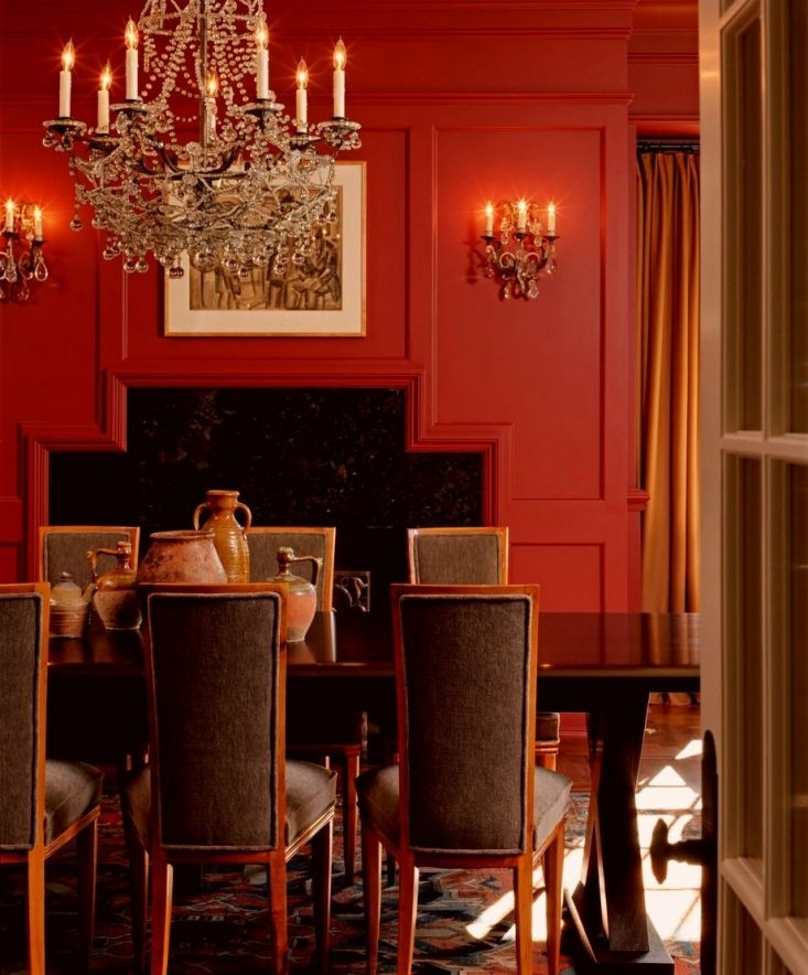 My North Facing Room Paint Color Is Driving Me Bonkers Room Paint Colors Red Dining Room Room Colors
