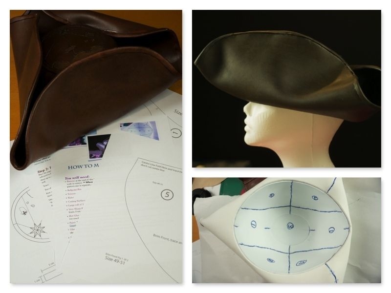 How To Make A Tricorne Hat
