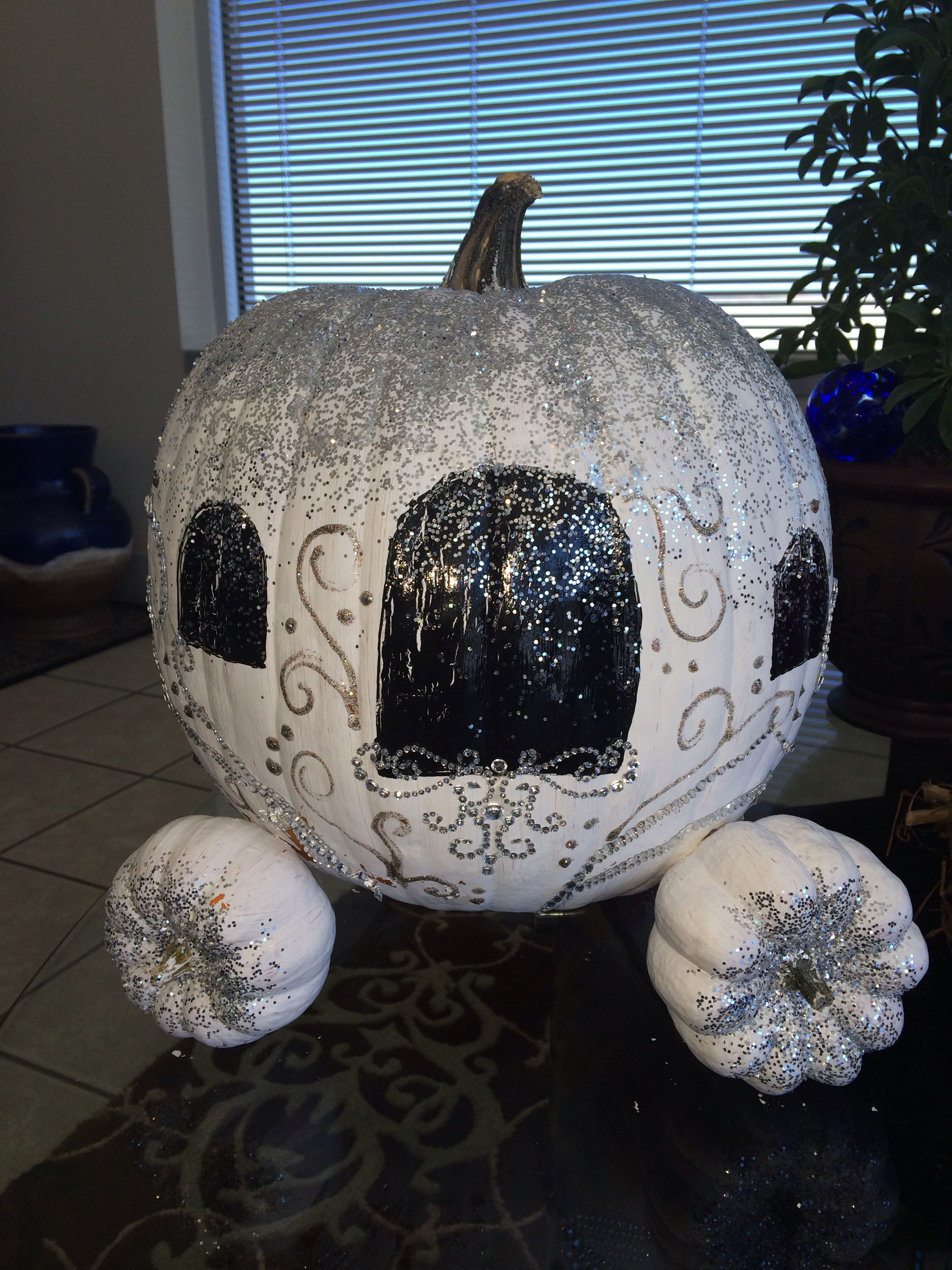 Pumpkin Decorating Contest - Cinderella's Pumpkin Carriage ...