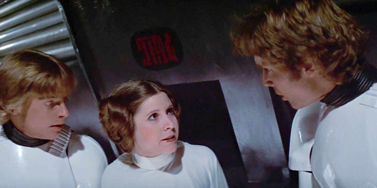 Image result for image, photo, picture, star wars, a new hope, the princess appears