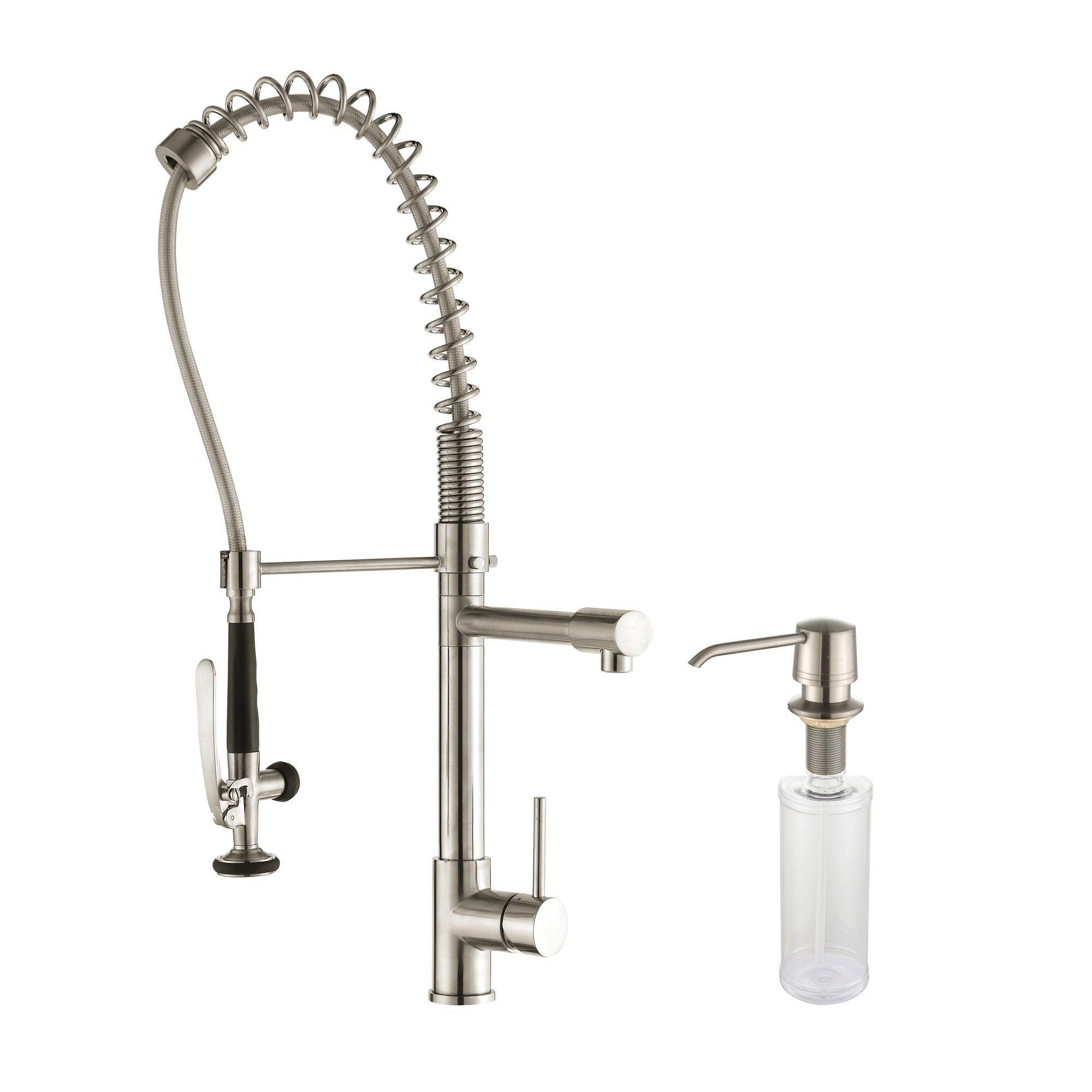 KRAUS Undermount Double Bowl Stainless Steel Kitchen Sink