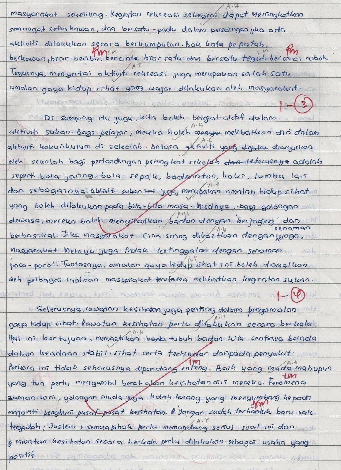 Laman Bahasa Melayu Spm Contoh Karangan Terbaik Pelajar Smakasas Peperiksaan Percubaan Spm 2013 Bullet Journal Journal Save