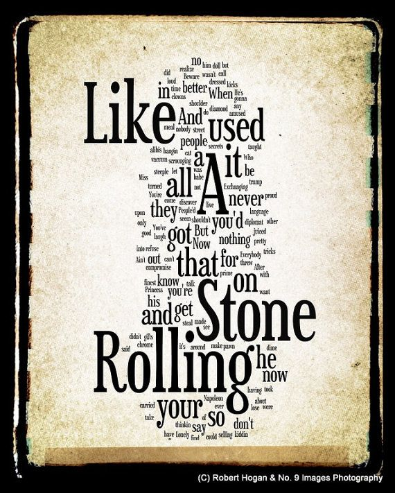 Stones Like Stones Essen like a rolling lyrics bob word word by no9images 15 00 ich liebe