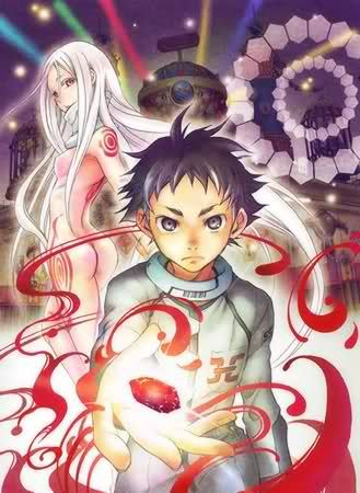 Deadman Wonderland-- interesting situation, terrific visuals, though very dark, so not one of my most faves for that.