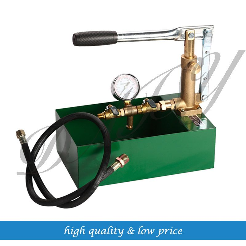 Hand Movement 10mpa Vacuum Water Pump For Water Pressure Test Water Pumps Cool Things To Buy Hydraulic Pump