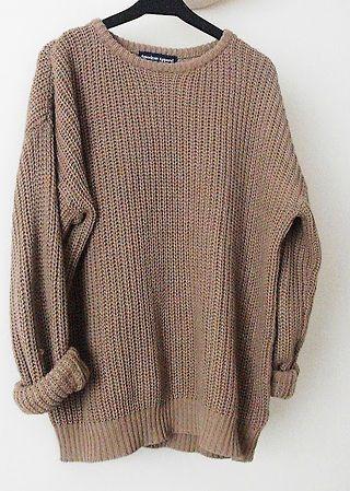 Big Sweaters.