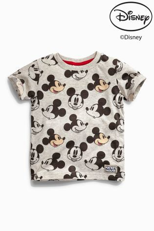 Buy All-Over Print Mickey Mouse™ T-Shirt (3mths-6yrs) from the ...
