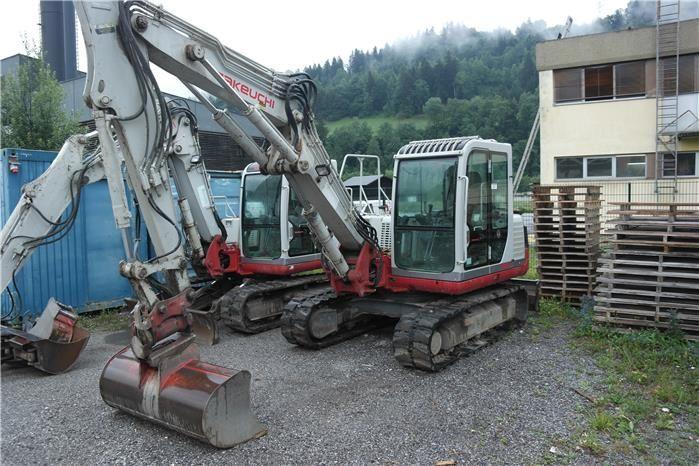 Karner & Dechow Industrie Auktionen - Raupenbagger (Gummiraupe) Takeuchi TB 175, Fabrikations-Nr.: 17531012, Baujahr: 2008, Leistung: 45,3 kW. abgel. Betriebs - Postendetails