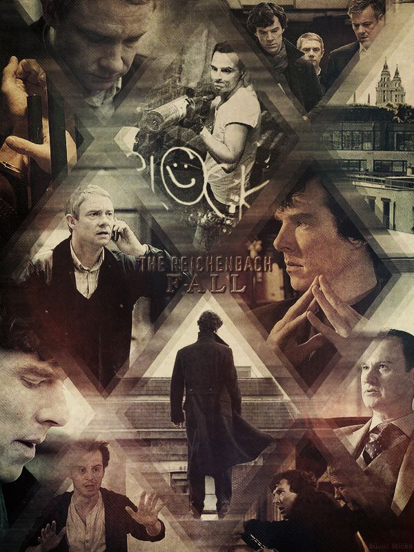 The Reichenbach Fall - A study in pink The blind banker The great game A scandal in Belgravia The hounds of Baskerville
