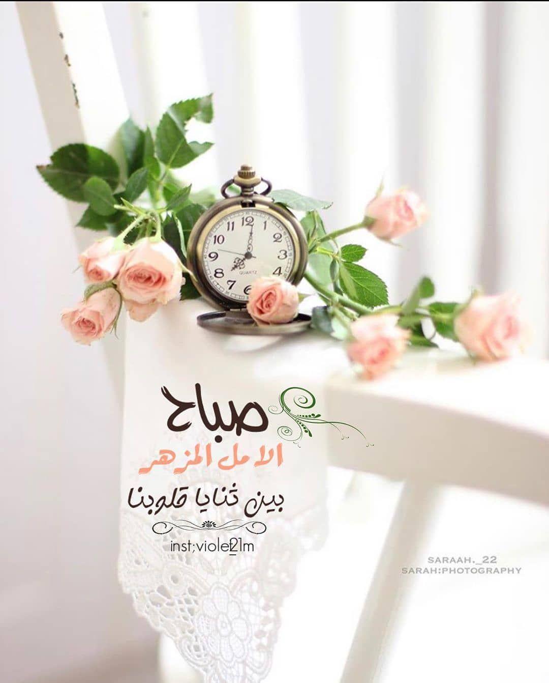 صبح و مساء On Instagram صباح الخيرات والمسرات صباح الورد Good Morning Images Flowers Good Morning Greetings Morning Greeting