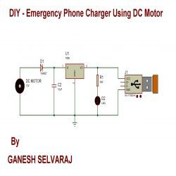 Image result for generator phone charger circuit Sri