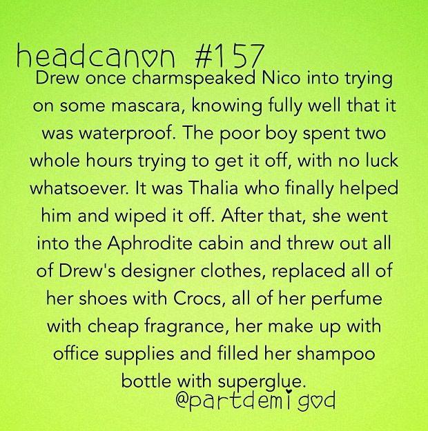 BEST HEADCANON EVER OMG THALICO!!!!! Aaaaah!!! THIS  *dies