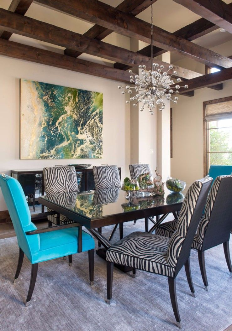 Westlake dining room color abounds in this contemporary dining room dining contemporary transitional by barbara gilbert interiors