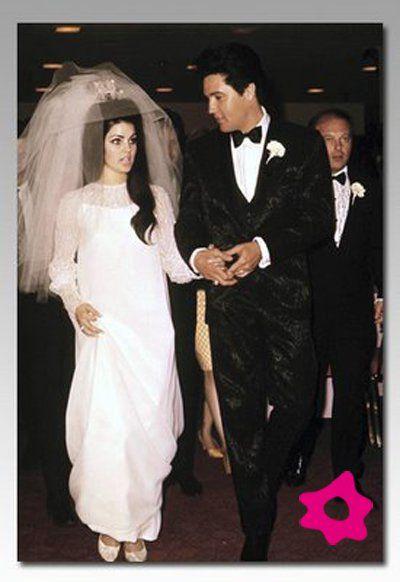 boda elvis presley & priscila   bodas de celebridades   pinterest
