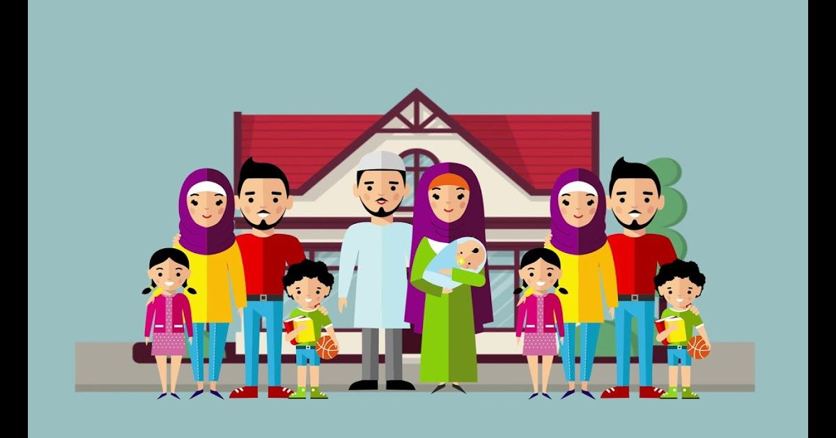 41+ Gambar animasi keluarga besar ideas