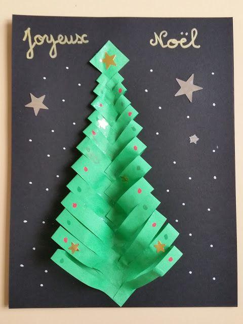 Bricolage Carte De Noel En Origami Carte Noel Noel Carte