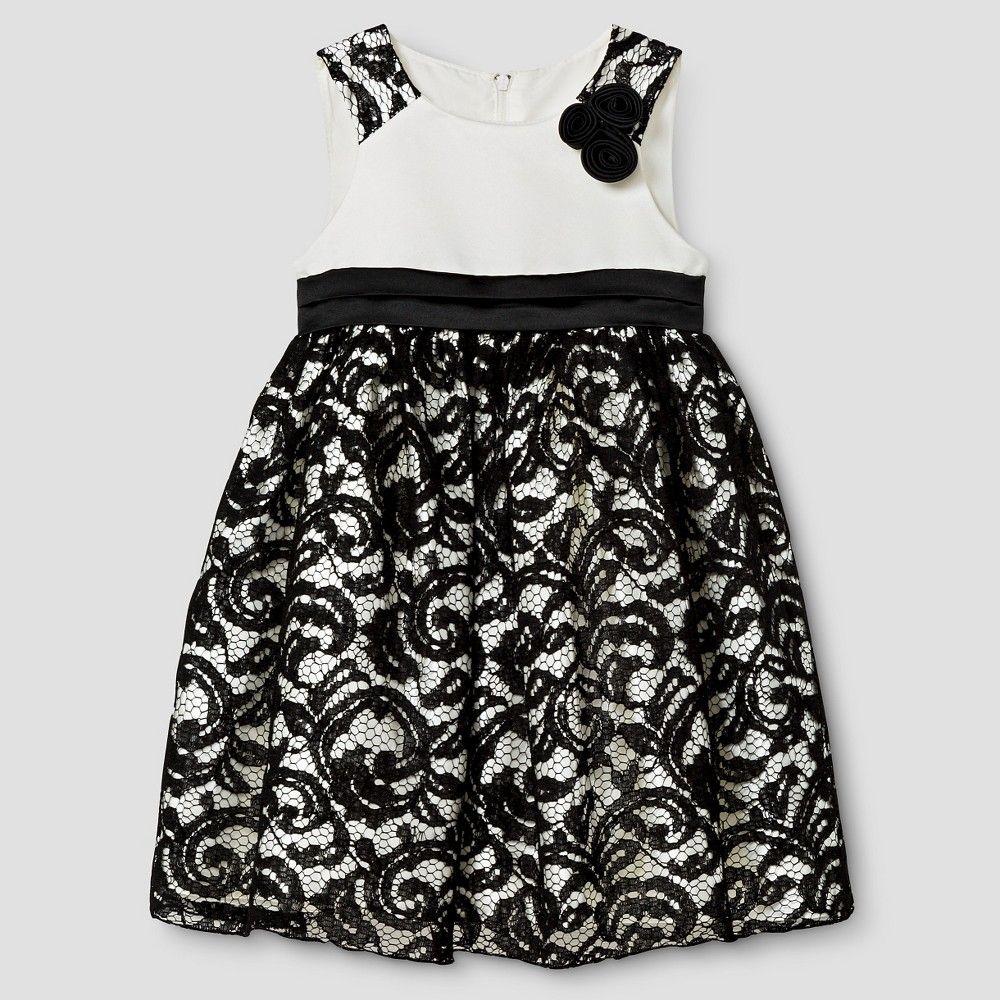 Katie m toddler floral lace dress t black toddler floral lace