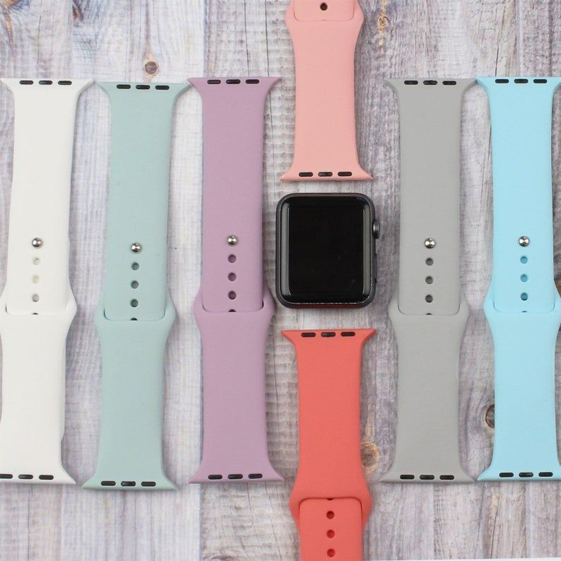 Soft Silicone Apple Watch Bands FAST SHIPPING 38mm