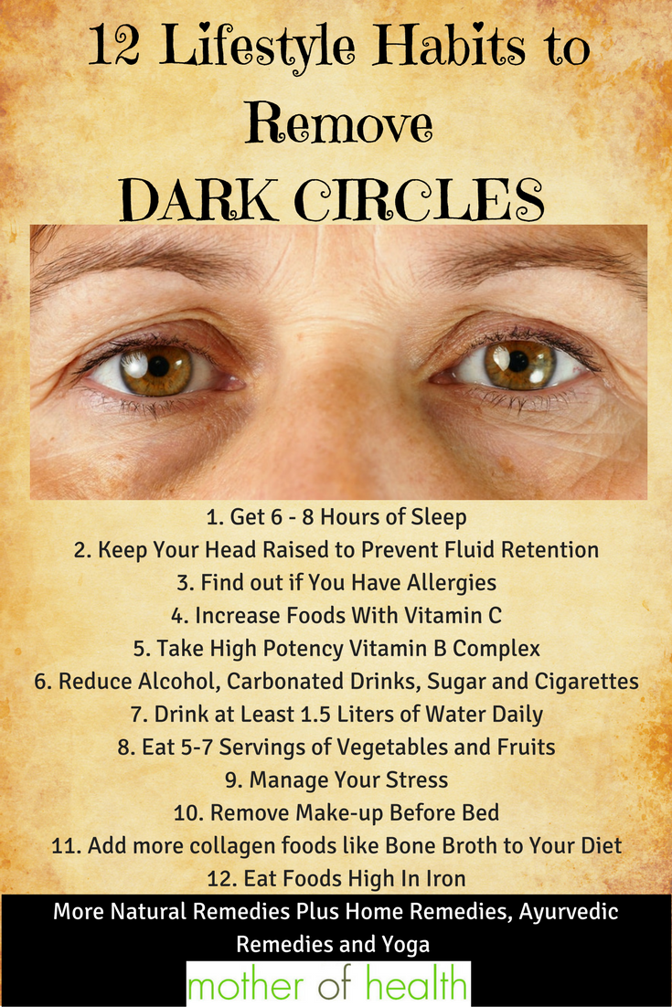 How To Get Rid Of Black Circles Under Eyes Permanently Dark Circle With 2 Household Ings Should Know Eye