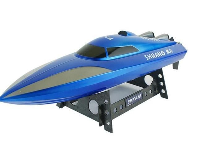 new Navigation model speedboat motor boat 7012 2.4G 4CH 40kg/h high speed RC racing boat rc boat for kids as best gift