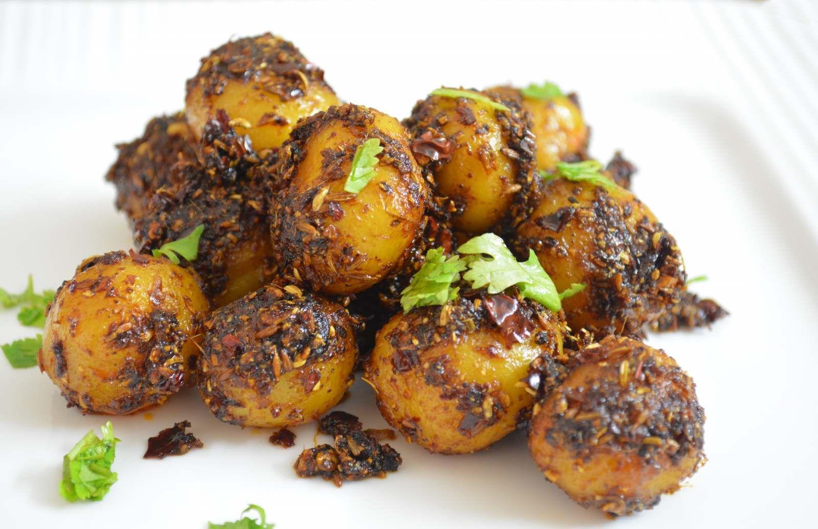 chatpata baby potato recipe in hindi recipe chatpata baby potato recipe in hindi forumfinder Choice Image