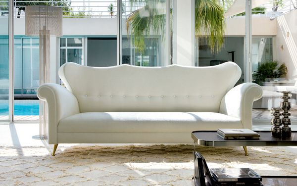 20 Clean And Gorgeous White Sofa Living Room