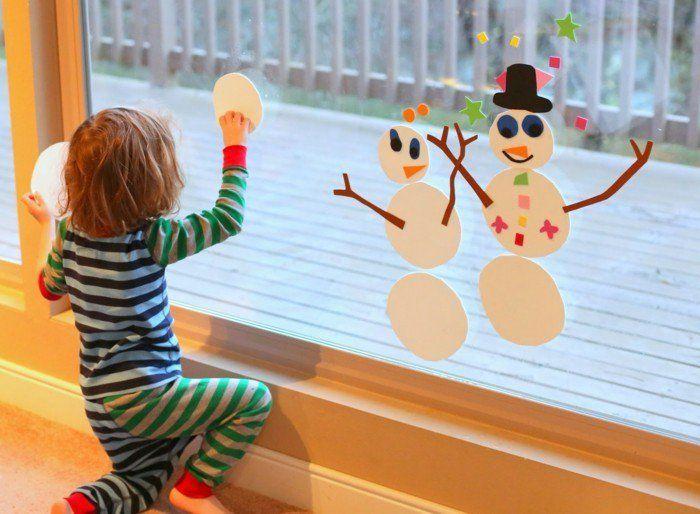 Bezaubernde Winter Fensterdeko Zum Selber Basteln Bastelideen