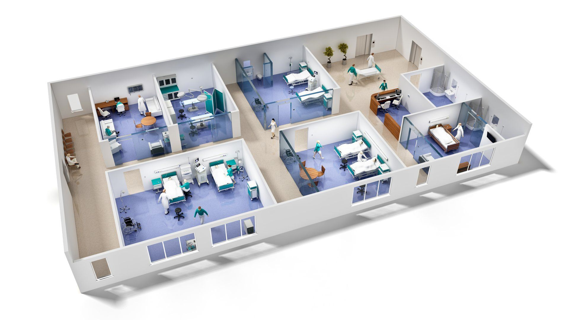 3d Hospital Floor Plans Buscar Con Google Recursos De