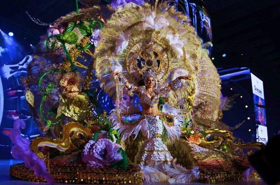 Grupo Mascarada Carnaval: Los presos de Tenerife cosen el vestido de Carnava...