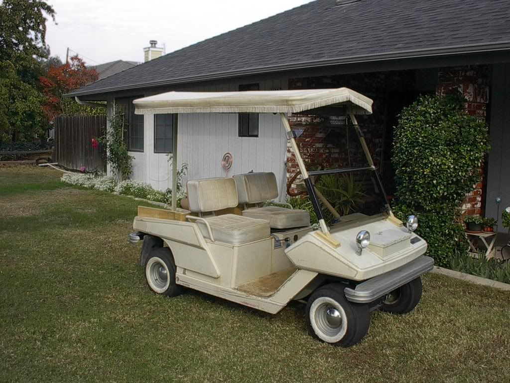 Buggies Unlimited Golf Cart Forum • View topic - Cushman Golfster ...