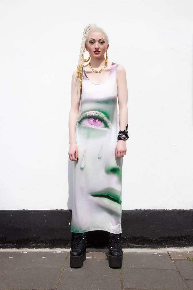 CRY VIRGIN DRESS