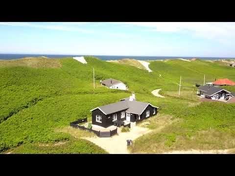 Schönes Ferienhaus nördlich von Søndervig, direkt an der