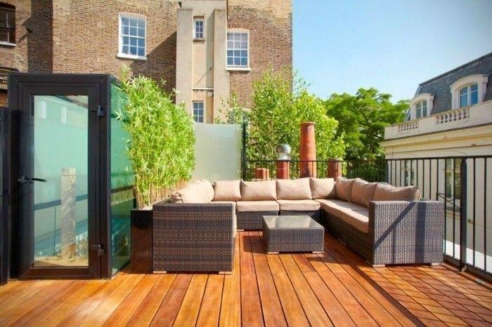 Amenager Balcon Equipement Exterieur Pour Un Toit Terrasse
