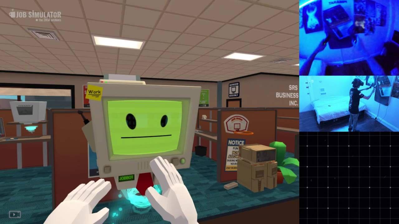 A showcase of all jobs in Job Simulator Job, Simulation