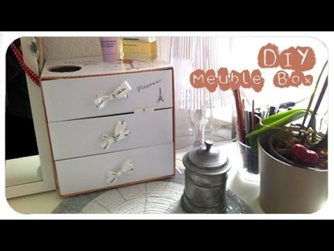 DIY ○ Fabrication meuble avec des MylittleBox ou GlossyBox My