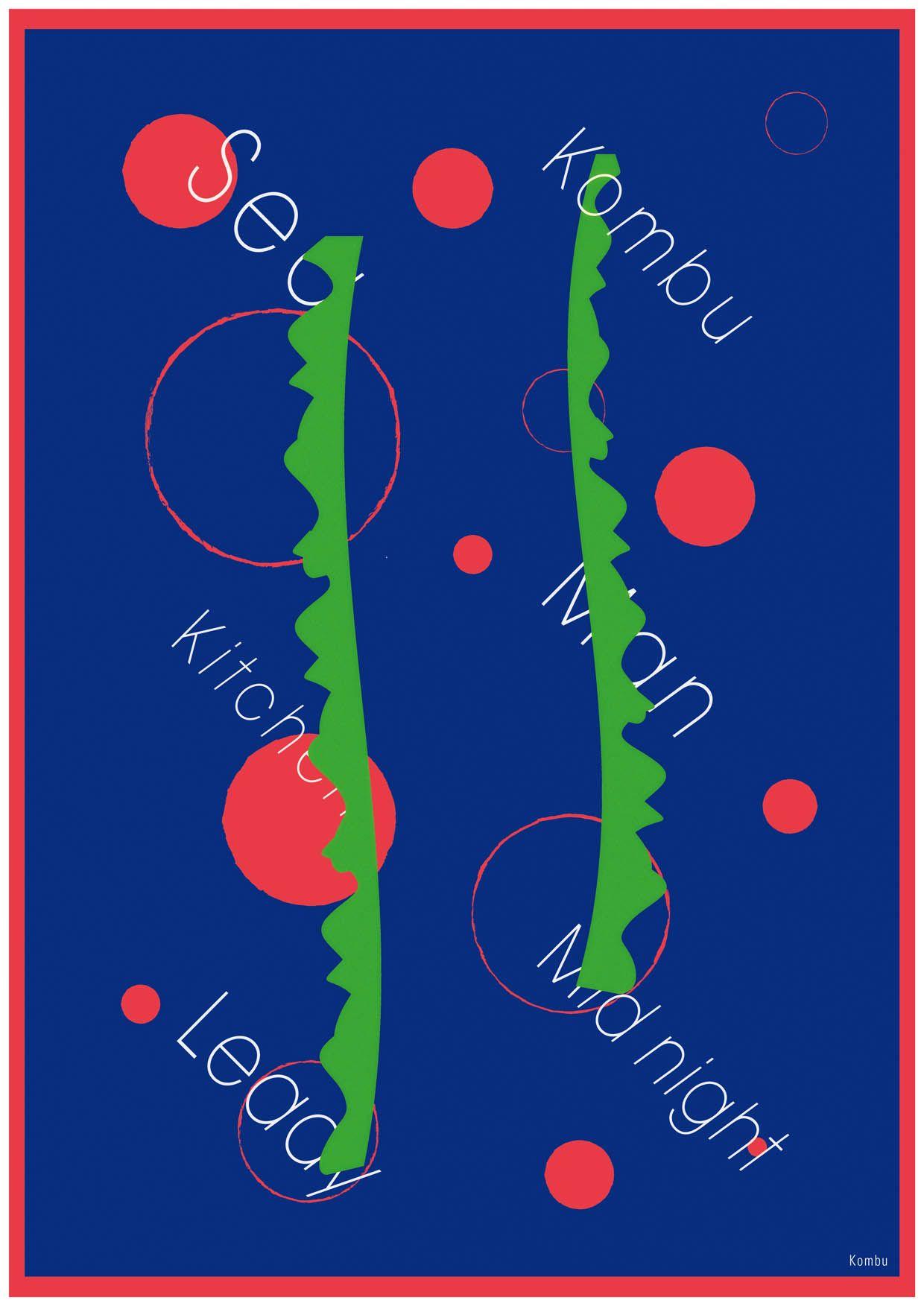 [exhibition] kitchen documentary (2013.06.08—06.12) size: B2 (graphic) design: Yutaka satoh
