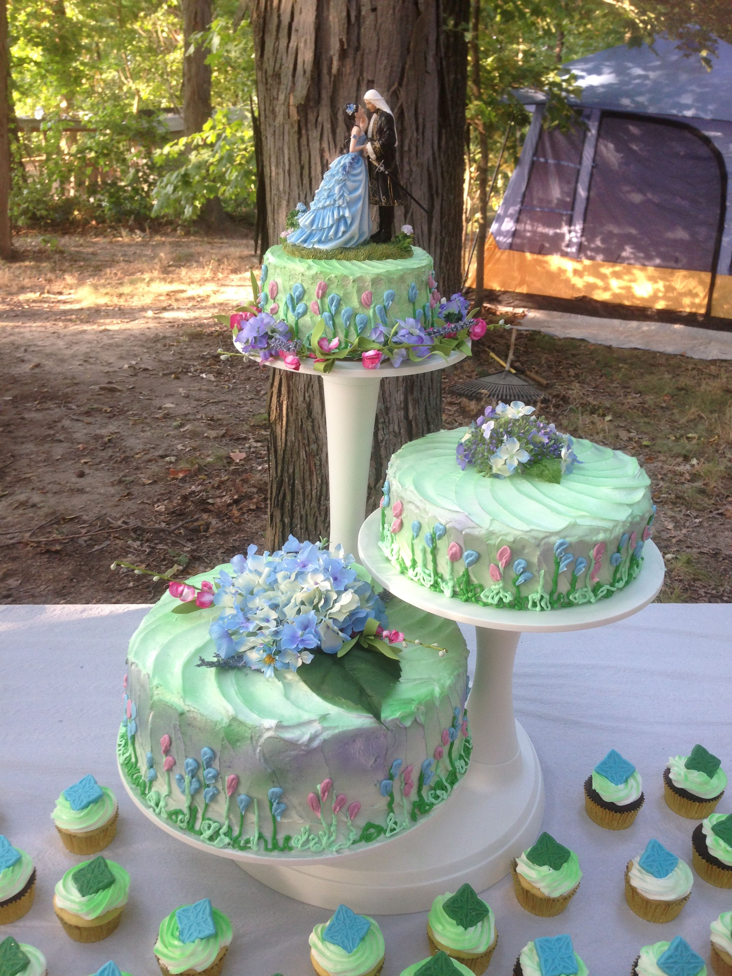Wedding Cake For Renaissance Wedding