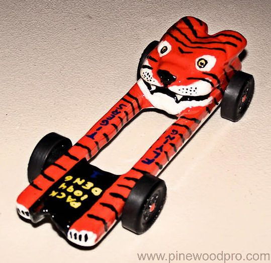 Fastest Pinewood Derby Car Designs | Grand Prix Racer Kit ...