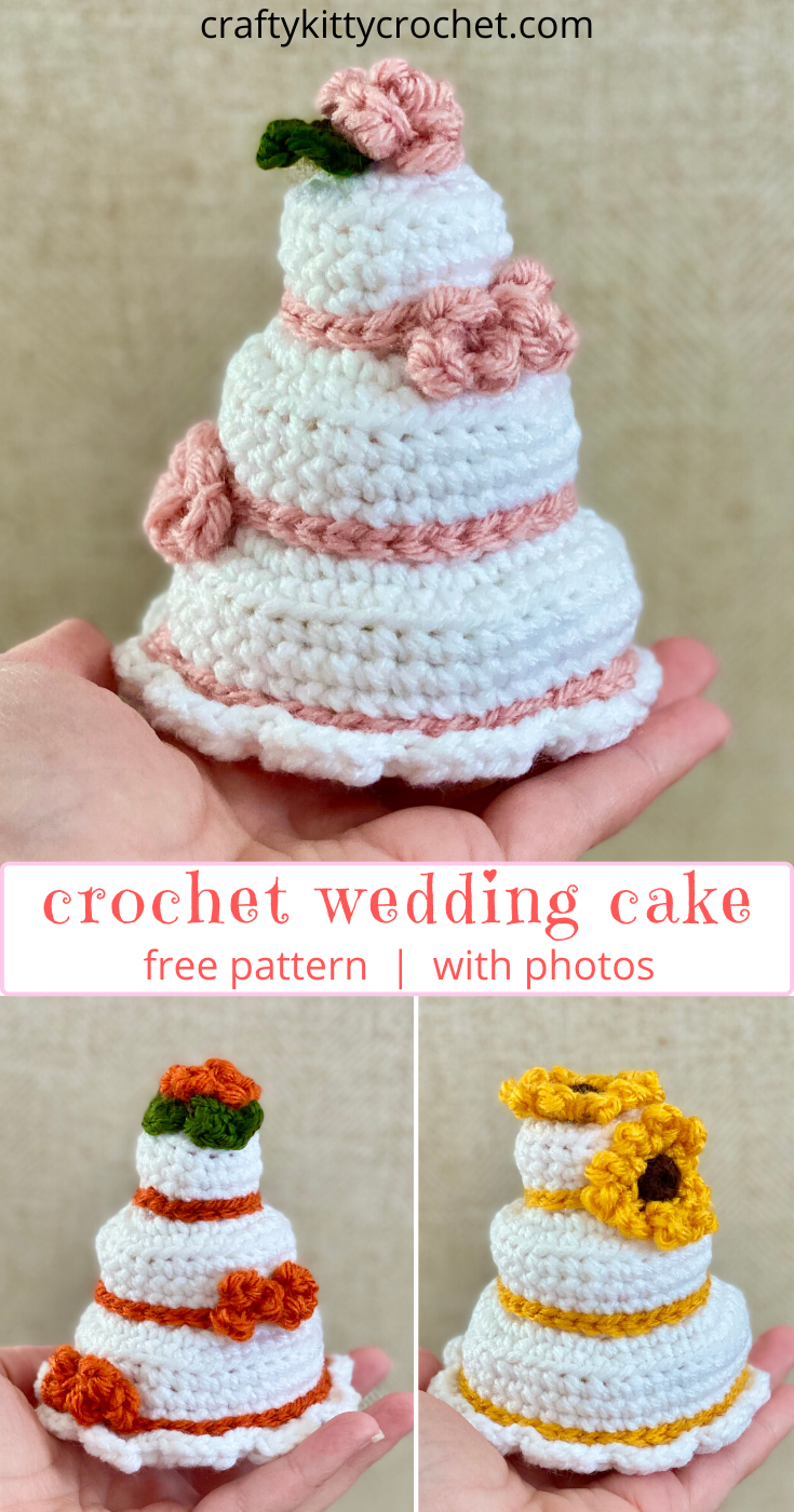 Wedding Cake Amigurumi Pattern - Amigurumi ZA | 1400x735