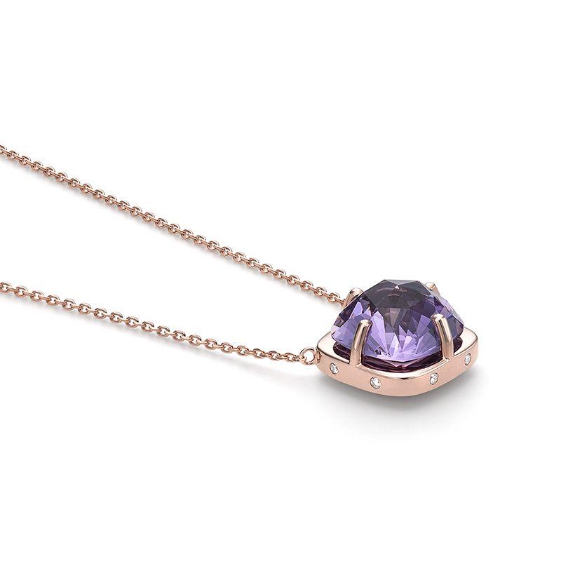 「TASAKI Online Shop」で取り扱う商品「lumino plus ペンダント(アメシスト×ダイヤモンド)「ルミノ プラス ペンダント (アメシスト×ダイヤモンド)」」の紹介・購入ページ