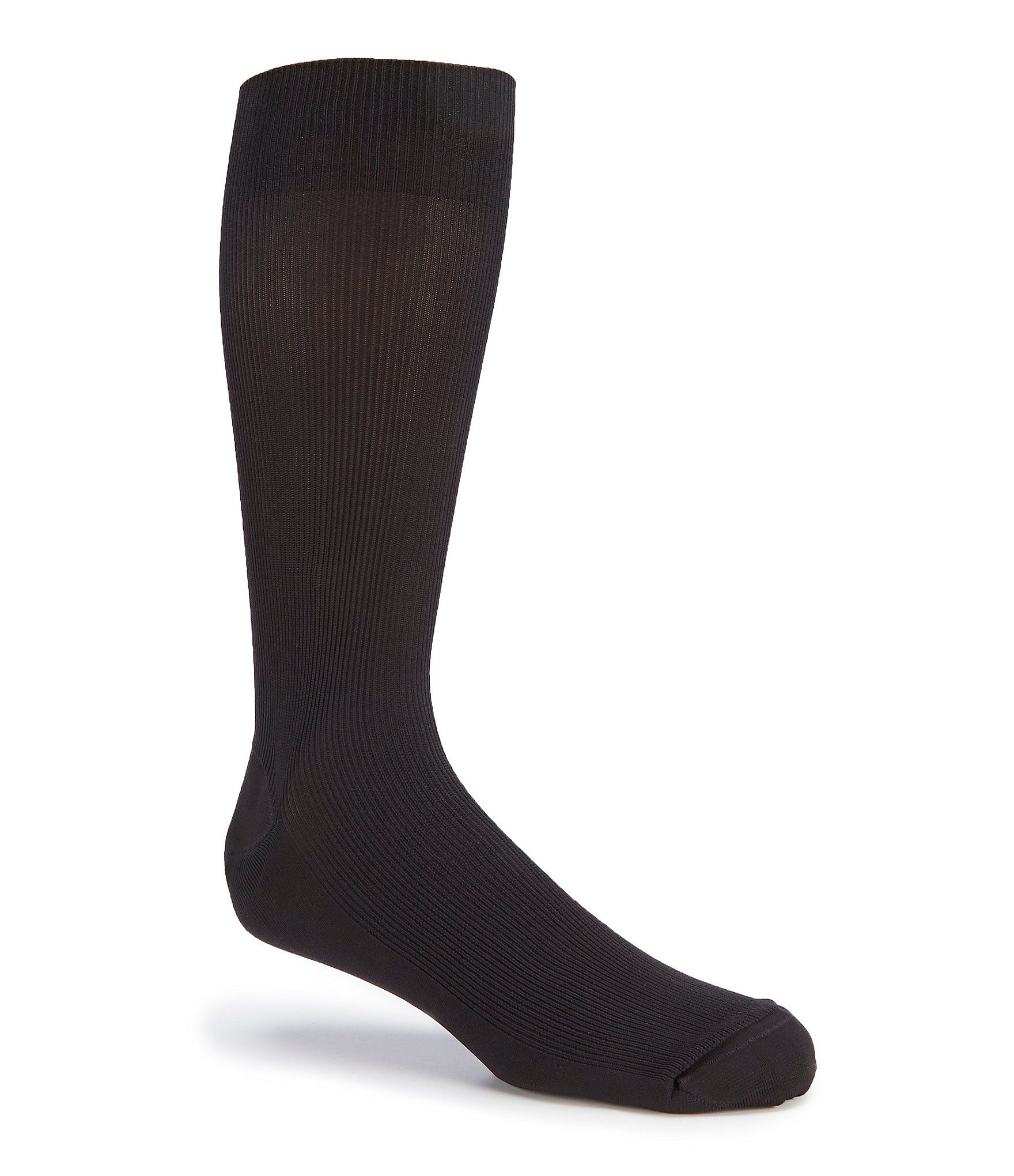 Gold Label Roundtree  Yorke Big  Tall Rib Crew Socks 3-Pack - Black N/A