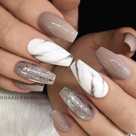 Acrylic Nails- Marble, Gel, Sparkle