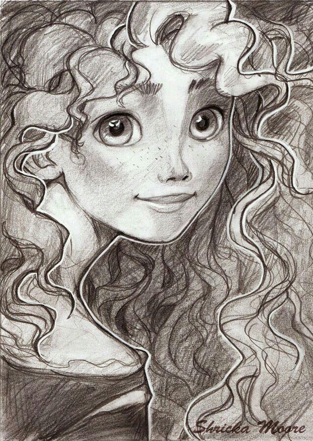 Храбрая сердцем картинки для срисовки